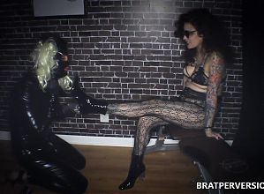 Bossy Bitches Meet a New Servant #FemdomRAW