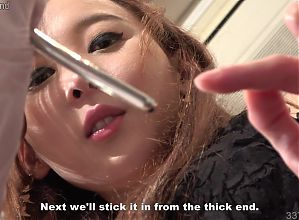 Japanese Femdom Risa CBT with Bougie