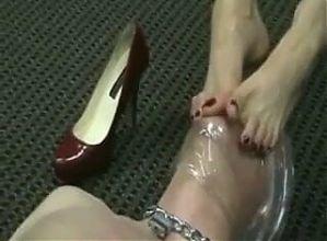 Elegant Foot Domination