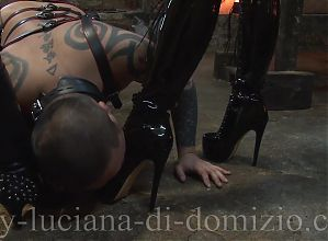 The Slave Anal hard fucked