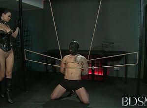 BDSM - Jasmine -- Mistress Jasmine and Sub Monty