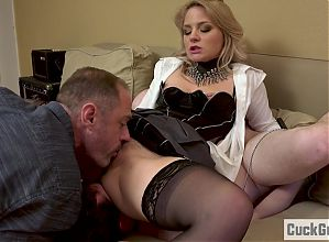 Sissy Husband becomes a cuckold