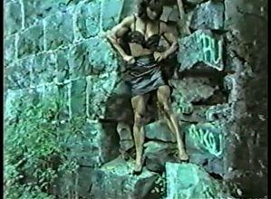 Joanne McCartney - on the rocks, outdoors