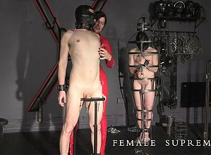 Ball busting Female Supremacy with Baroness Essex