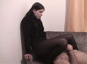 Pantyhose Smothering